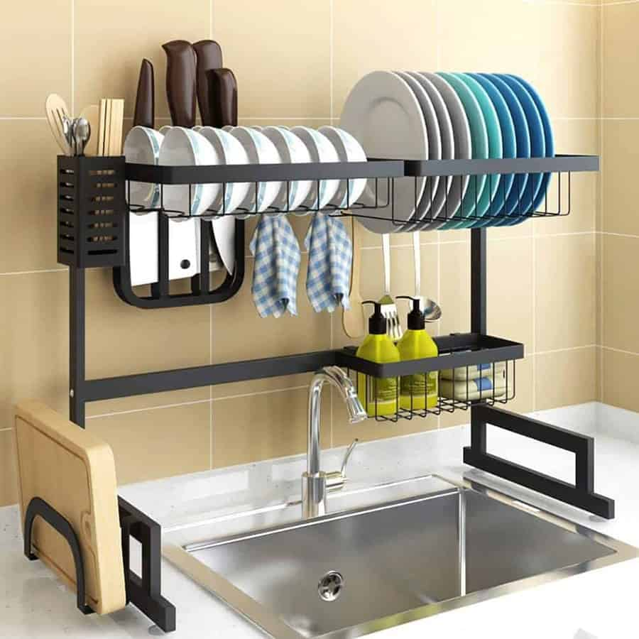 10 Best Over The Sink Dish Drying Rack 2020 Robust Kitchen